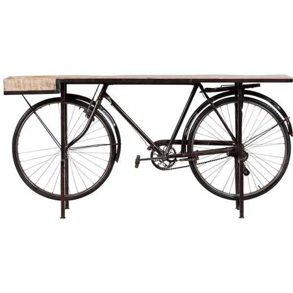 Bicycle Console Table - City Home - Portland Oregon - Furniture and Home Decor