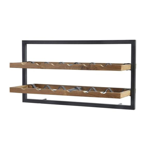 D-Bodhi Hanging Horizontal Wine Rack — 5 Styles - City Home - Portland Oregon - Furniture and Home Decor