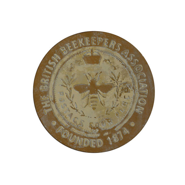 British Beekeepers Association Plaque - City Home - Portland Oregon - Furniture and Home Decor