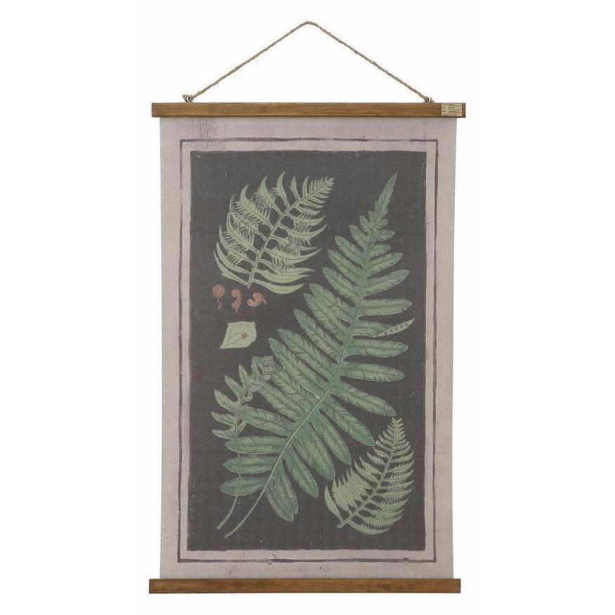 Fern Wall Scroll - City Home - Portland Oregon - Furniture and Home Decor