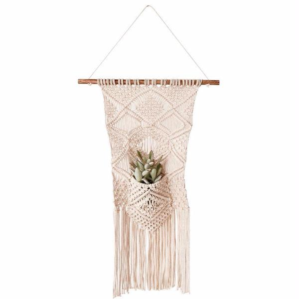 Macrame Pocket Wall Hanging