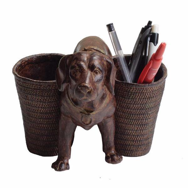 Resin Dog Pen Holder