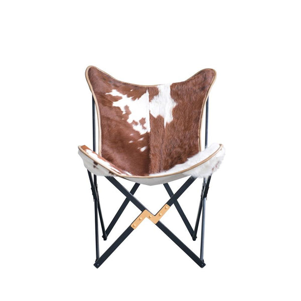 Genuine Cowhide Butterfly Chair
