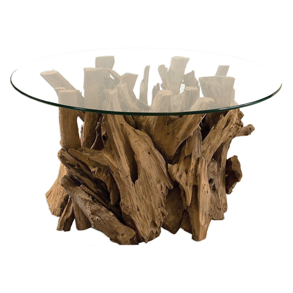 Driftwood Coffee Table - City Home - Portland Oregon - Furniture and Home Decor