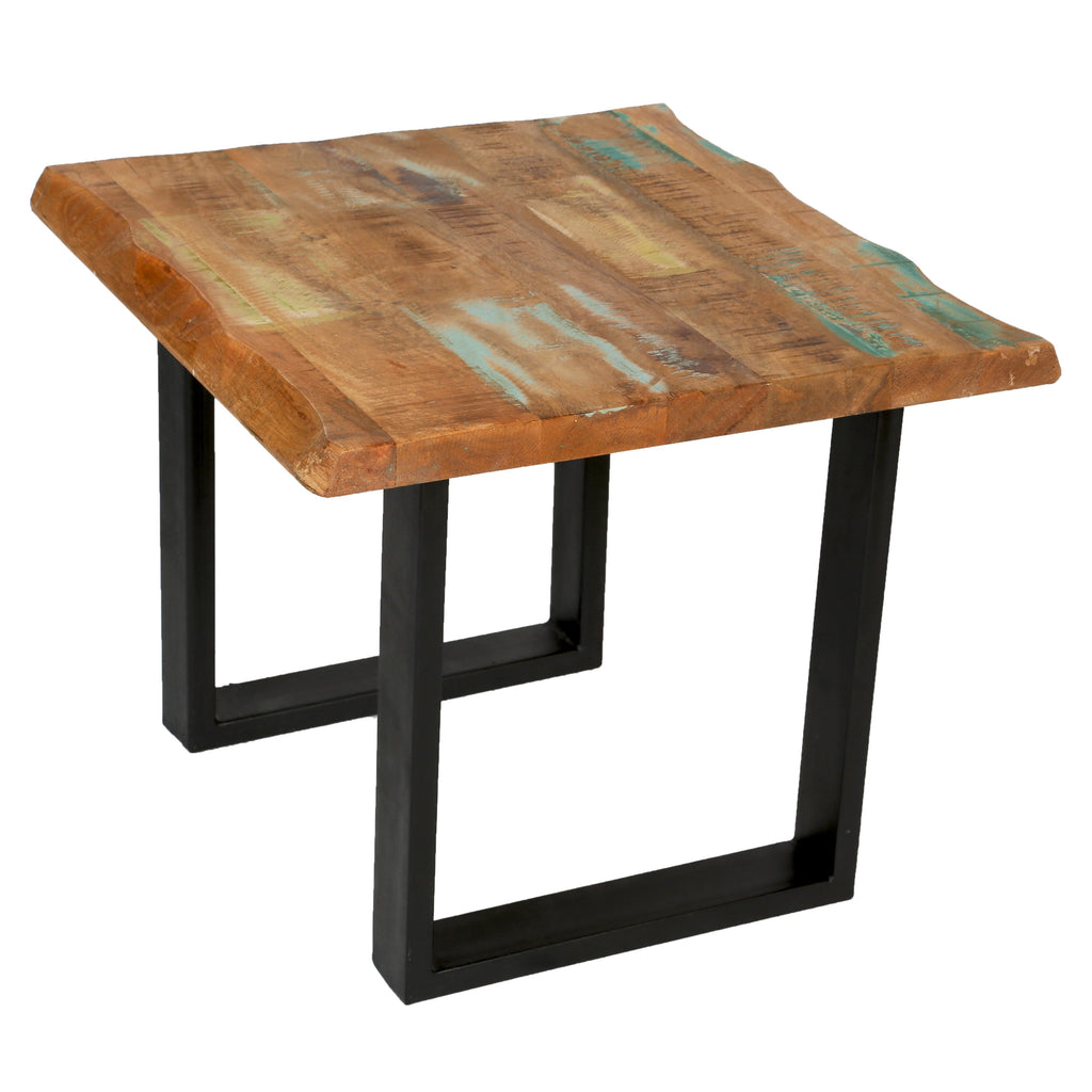 Reclaimed End Table - City Home - Portland Oregon - Furniture and Home Decor