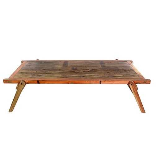 Vintage Wood Folding Camp Table