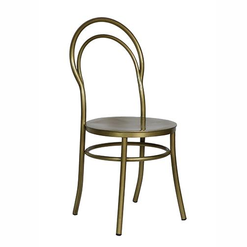 Metz Brass Chair - City Home - Portland Oregon - Furniture and Home Decor