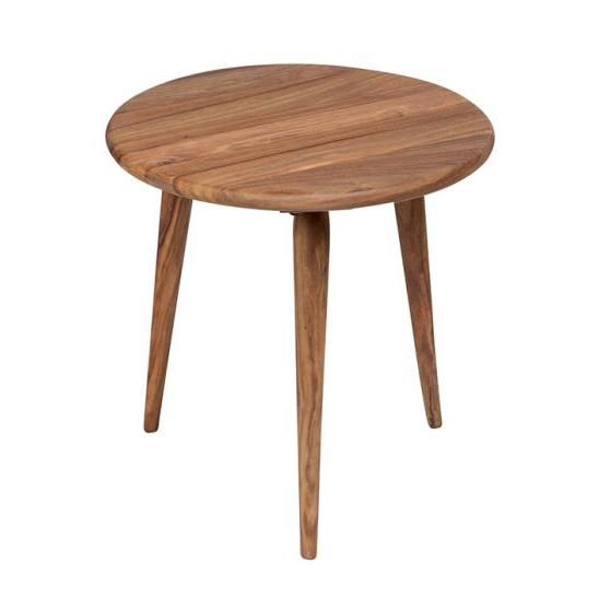 Urban Wood Round End Table