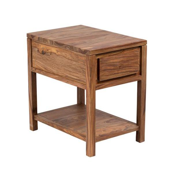 Urban Wood Recliner Side Table