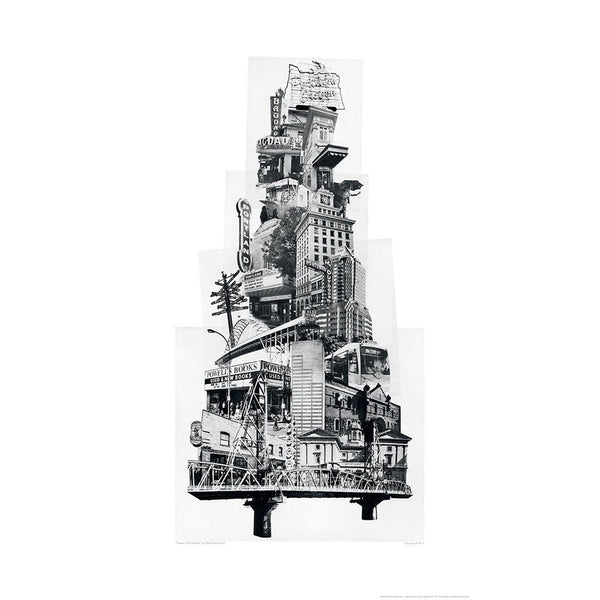 Tower of Portland Print