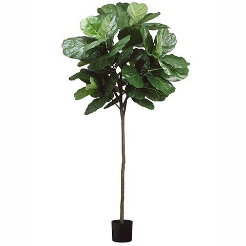 7' Faux Fiddle Leaf Fig Tree - City Home - Portland Oregon - Furniture and Home Decor