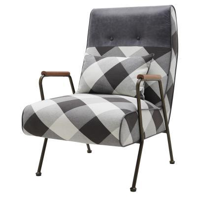 Plaid Kahlo Chair