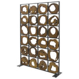 Teak and Metal Kenan Divider