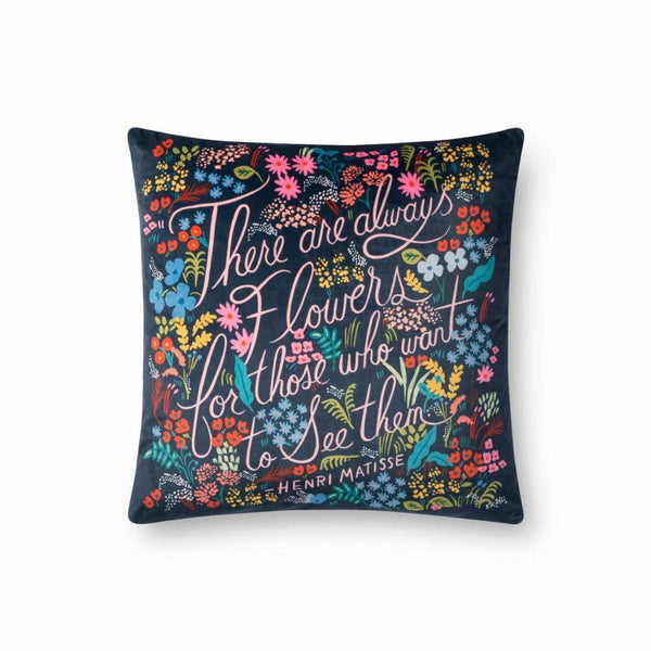 There Are Always Flowers Pillow - City Home - Portland Oregon - Furniture and Home Decor