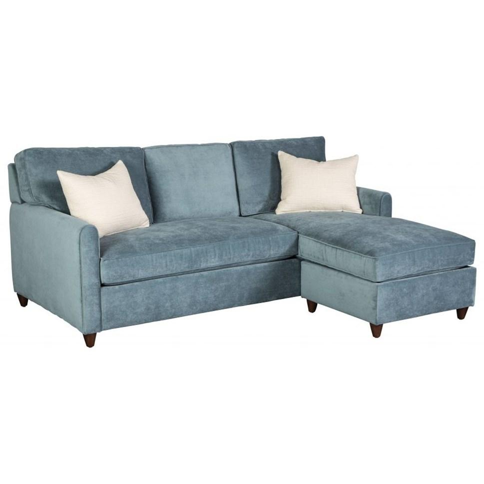 Emory Sofa With Chaise + Storage Ottoman   City Home   Portland Oregon    Furniture And