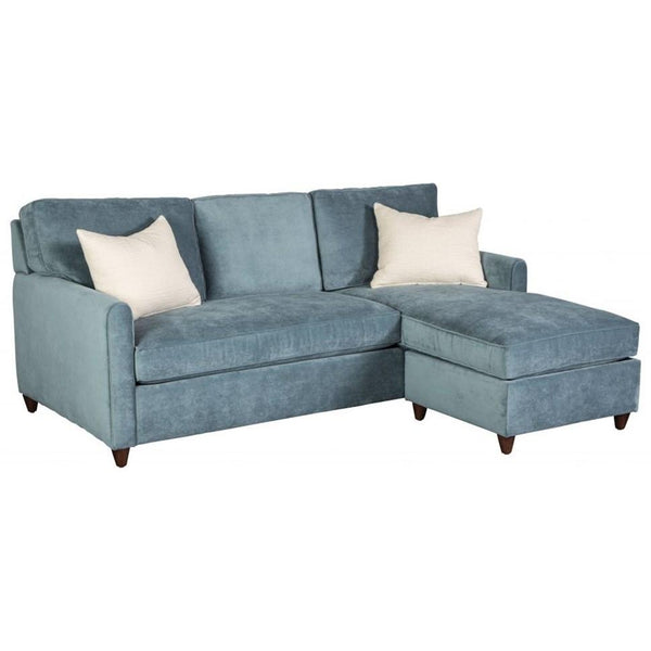 Emory Sofa with Chaise + Storage Ottoman - City Home - Portland Oregon - Furniture and Home Decor