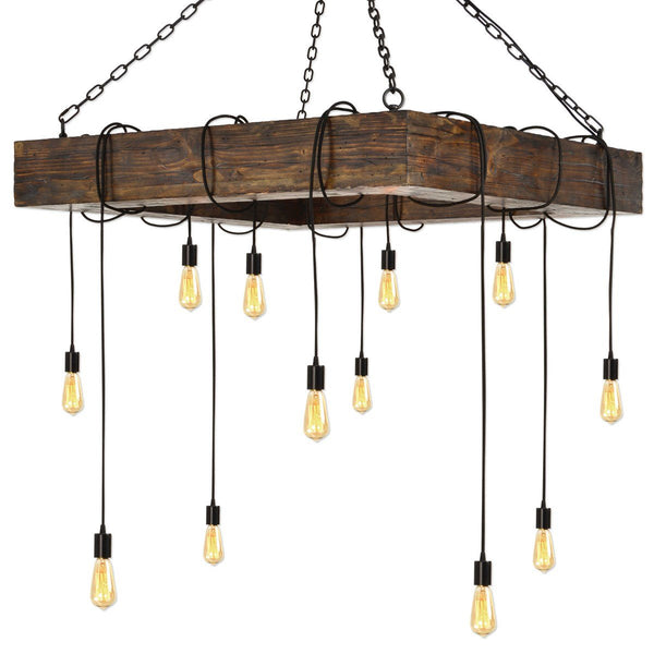 Penn Station 12 Light Chandelier - City Home - Portland Oregon - Furniture and Home Decor