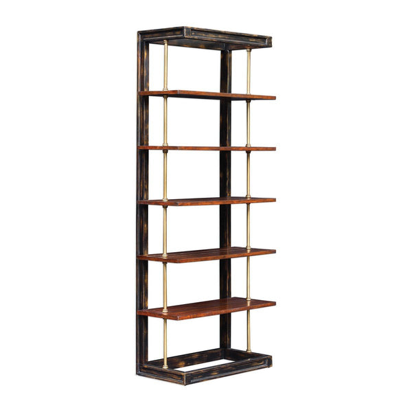 Hatcher Etagere Bookcase - City Home - Portland Oregon - Furniture and Home Decor