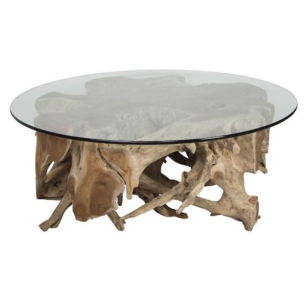Teak Root Coffee Table - City Home - Portland Oregon - Furniture and Home Decor