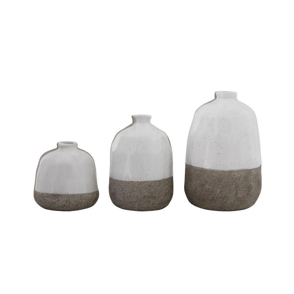 Terracotta Vases — Set of 3