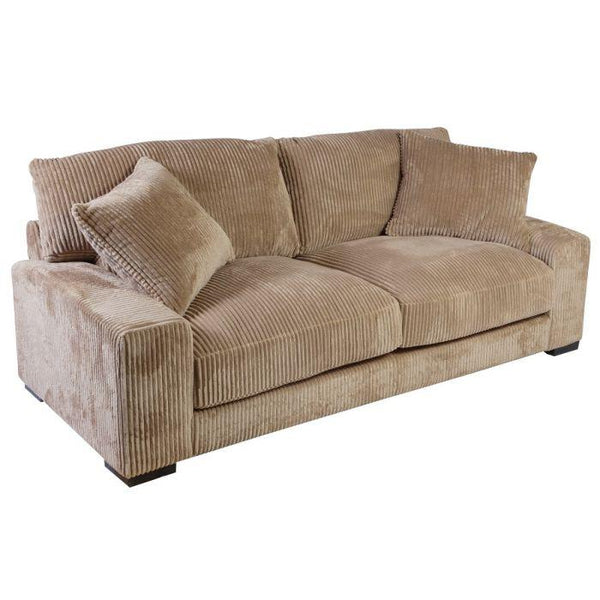 Big Chill Tan Sofa - City Home - Portland Oregon - Furniture and Home Decor