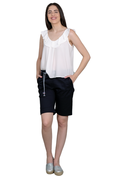 COTTON STRETCH SHORTPANTS