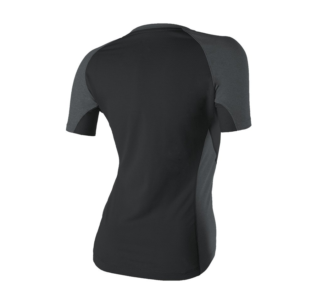 Glorieta V-Neck Tee Black