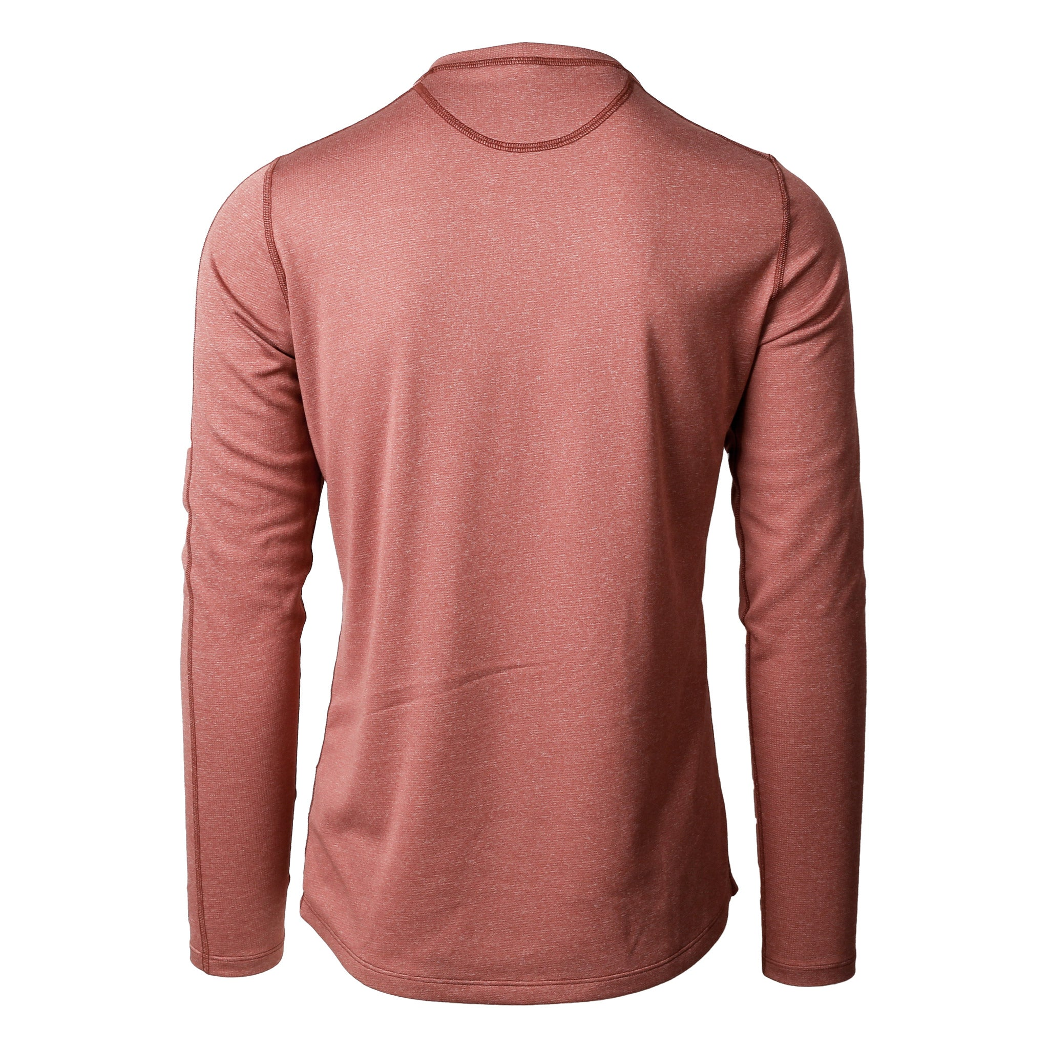 Escalator Merino Henley Redwood Heather