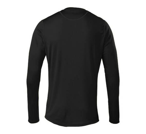 Escalator Merino Henley Black