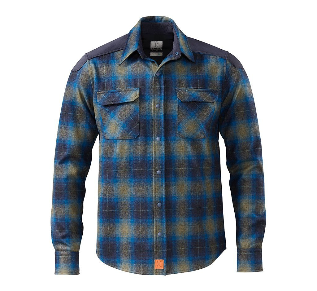 The Icon Shirt Mendocino Blue
