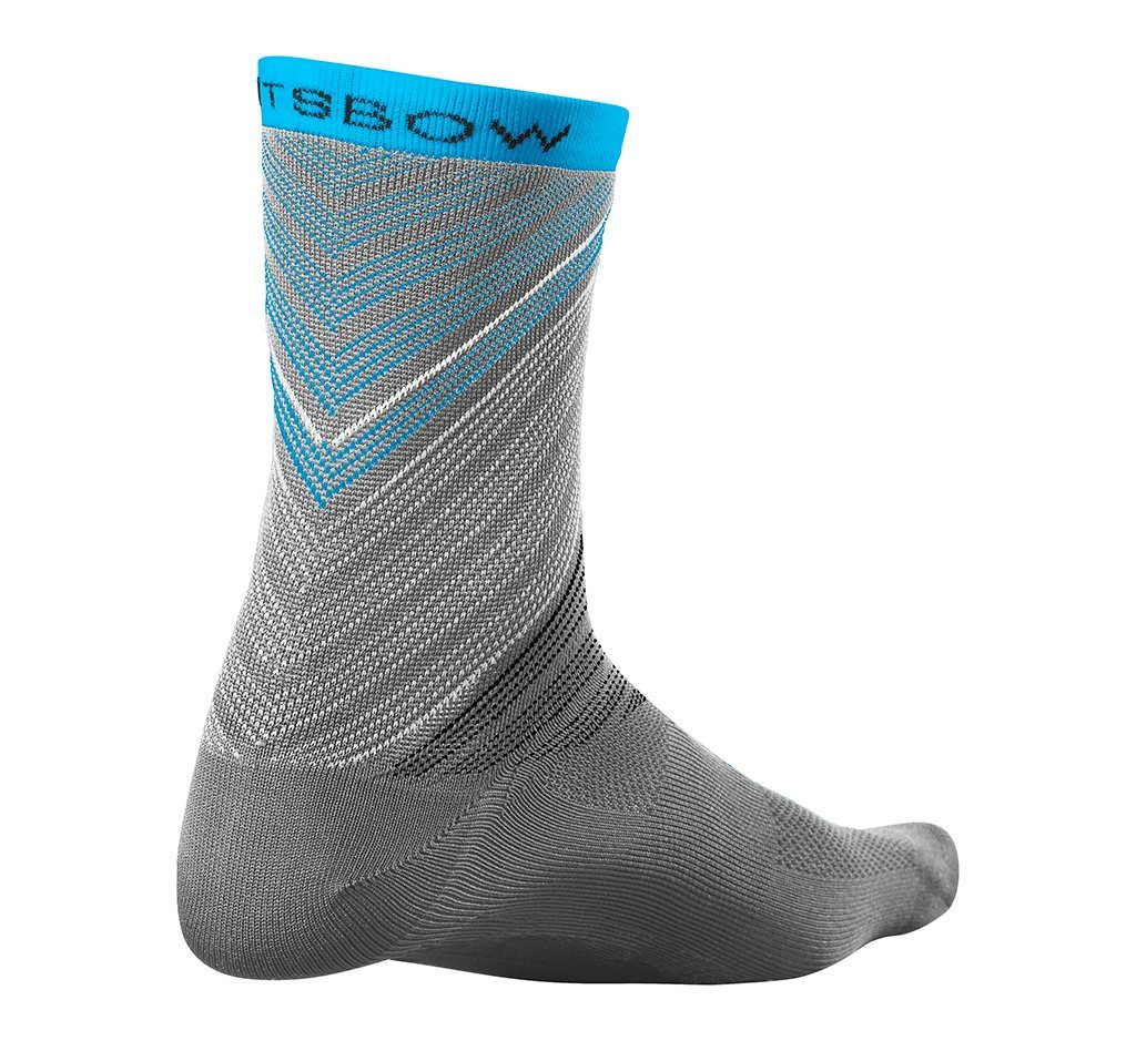 "V File Sock 5"" Steel Grey"