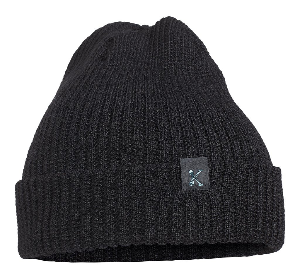 The Gronk Merino Toque Black