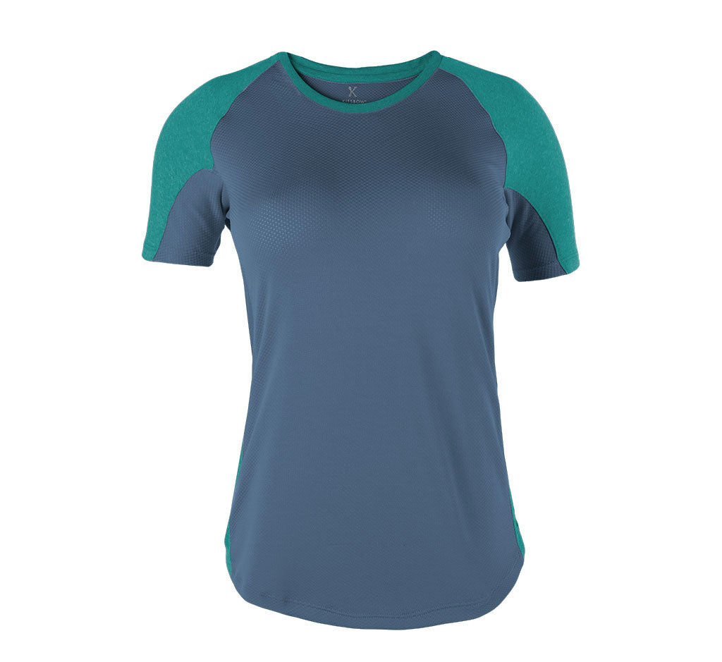 Hilso Tee Mineral Blue/Russian River