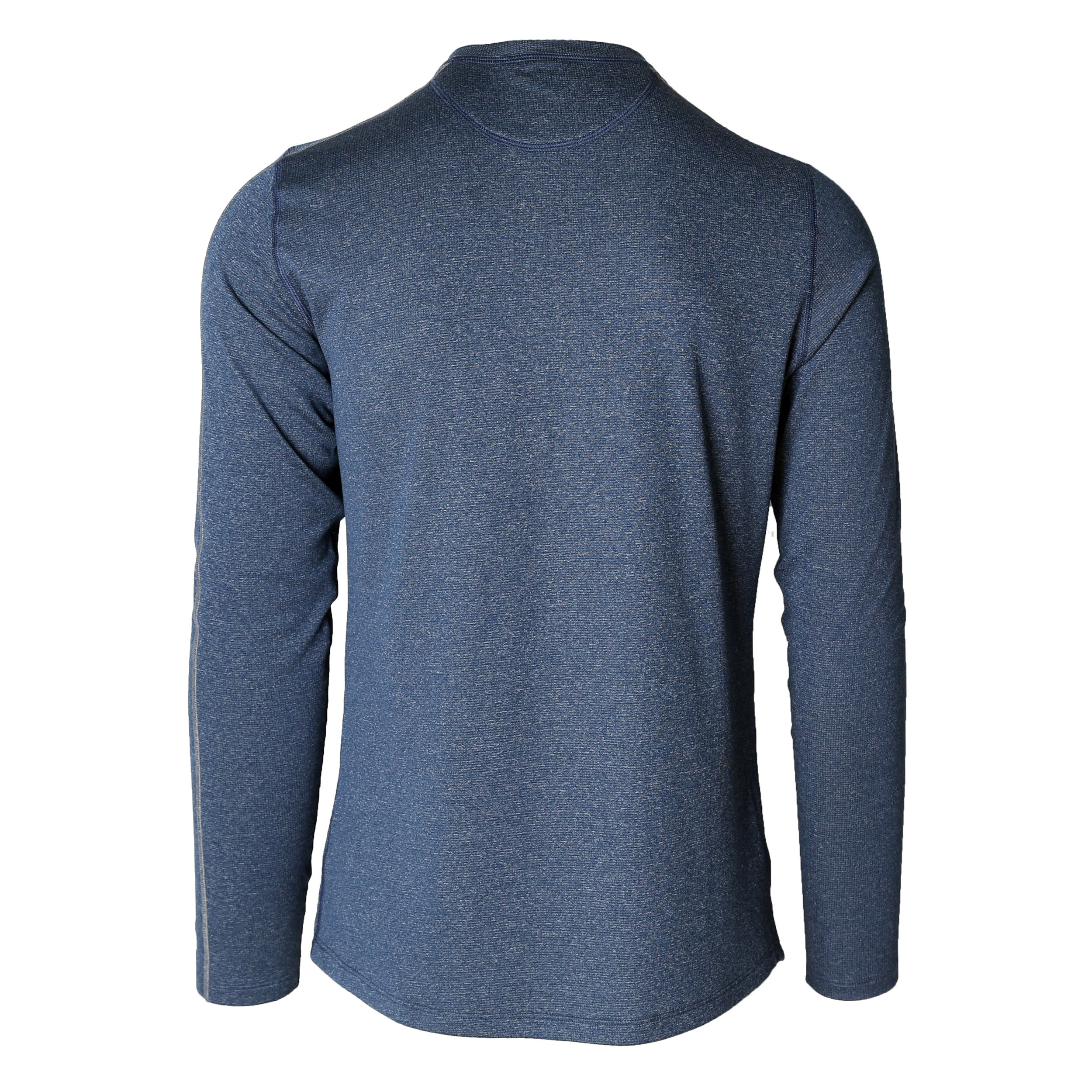 Escalator Merino Crew Blue Ash
