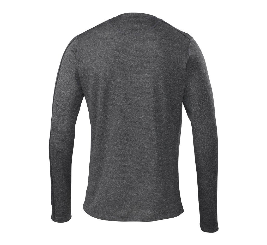 Escalator Merino Crew Black Heather