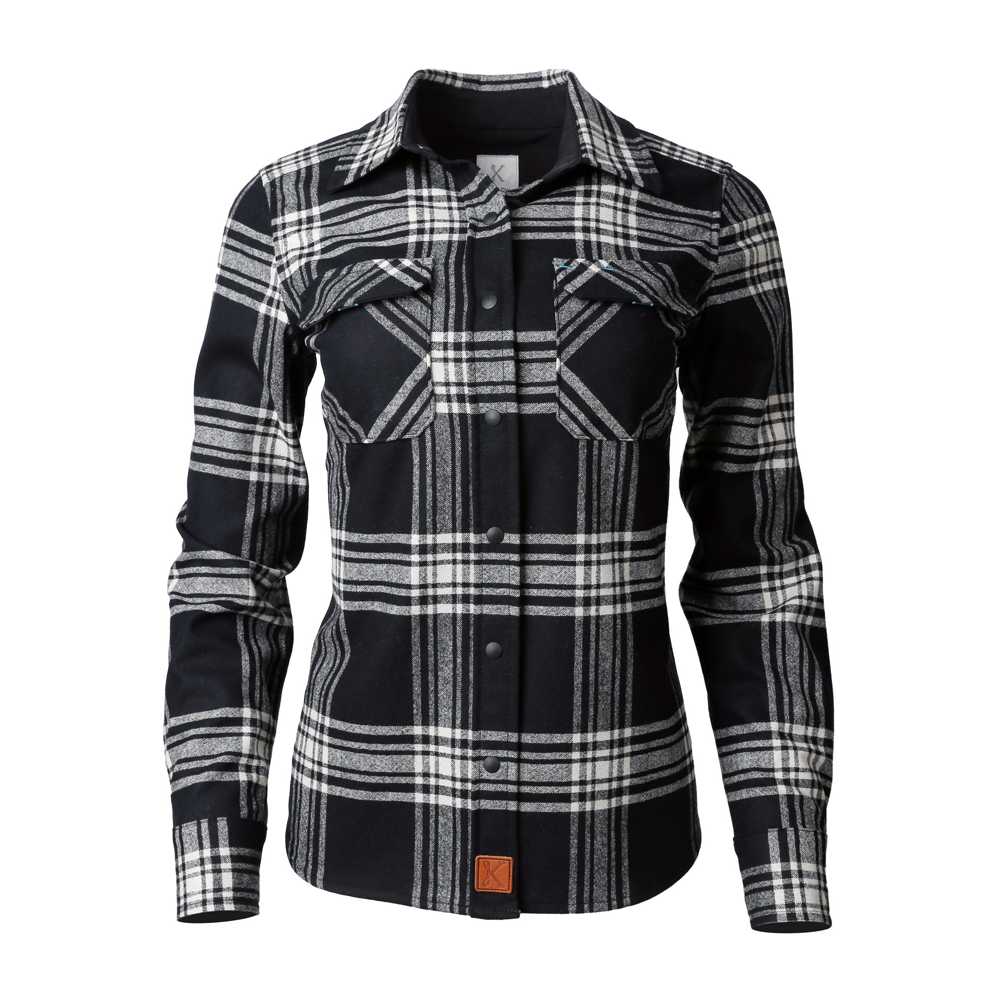 Icon Merino Shirt for Women Black Mountain