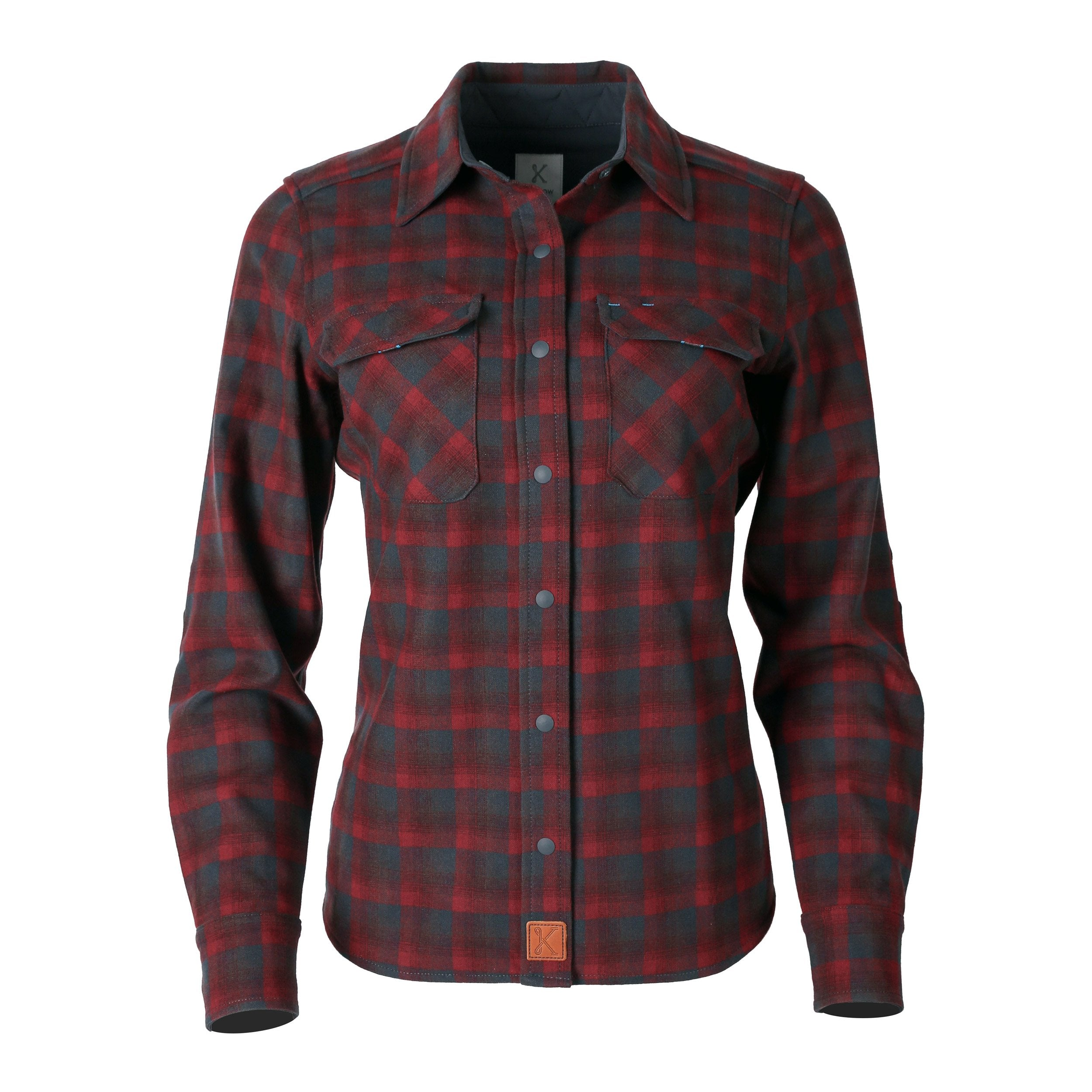 Icon Shirt for Women Tupelo Grey