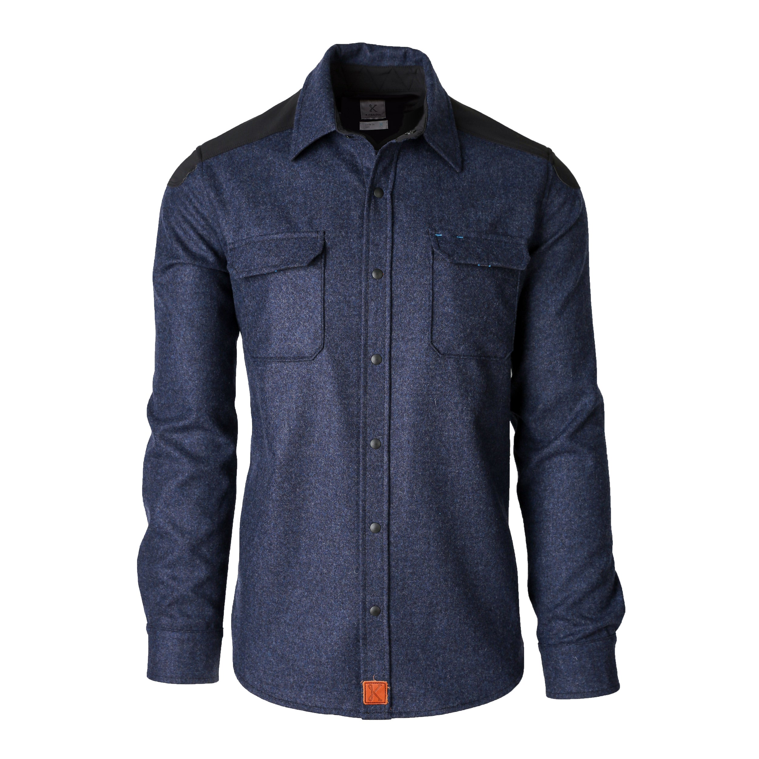 The Icon Shirt Deep Blue Ridge