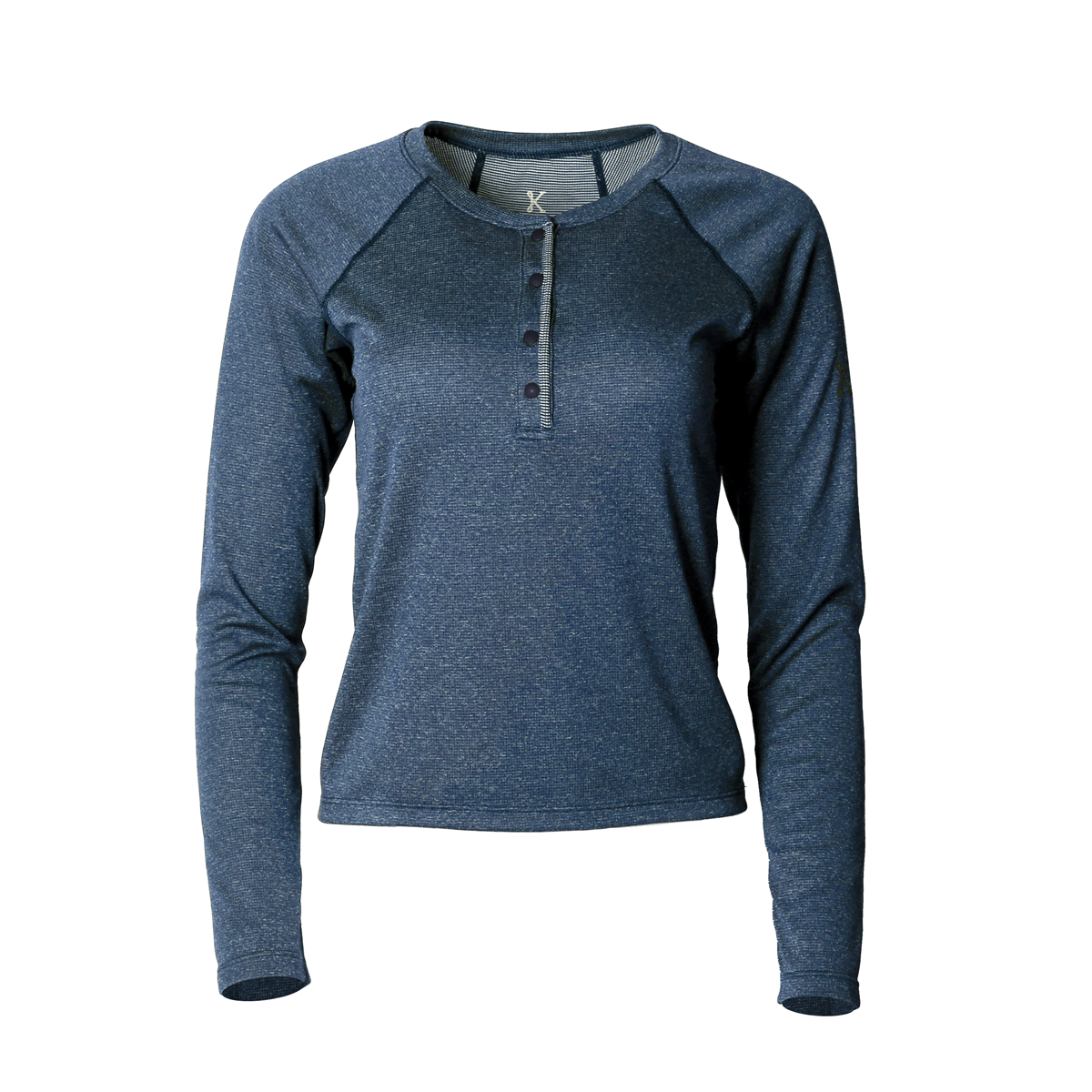 Lory Merino Top Blue Ash