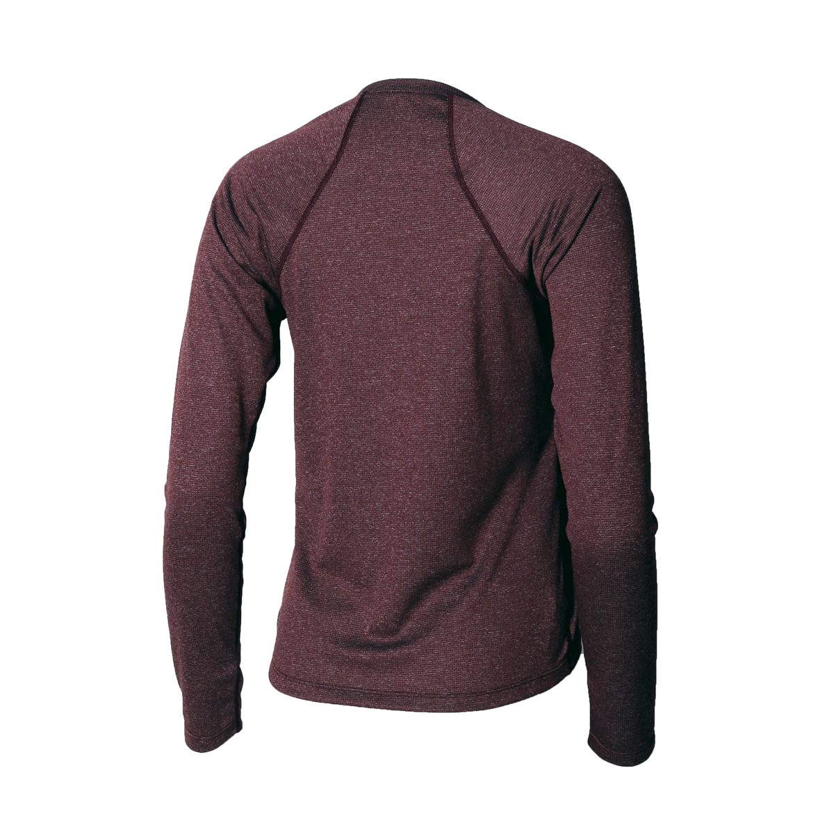 Lory Merino Top Oxblood Heather