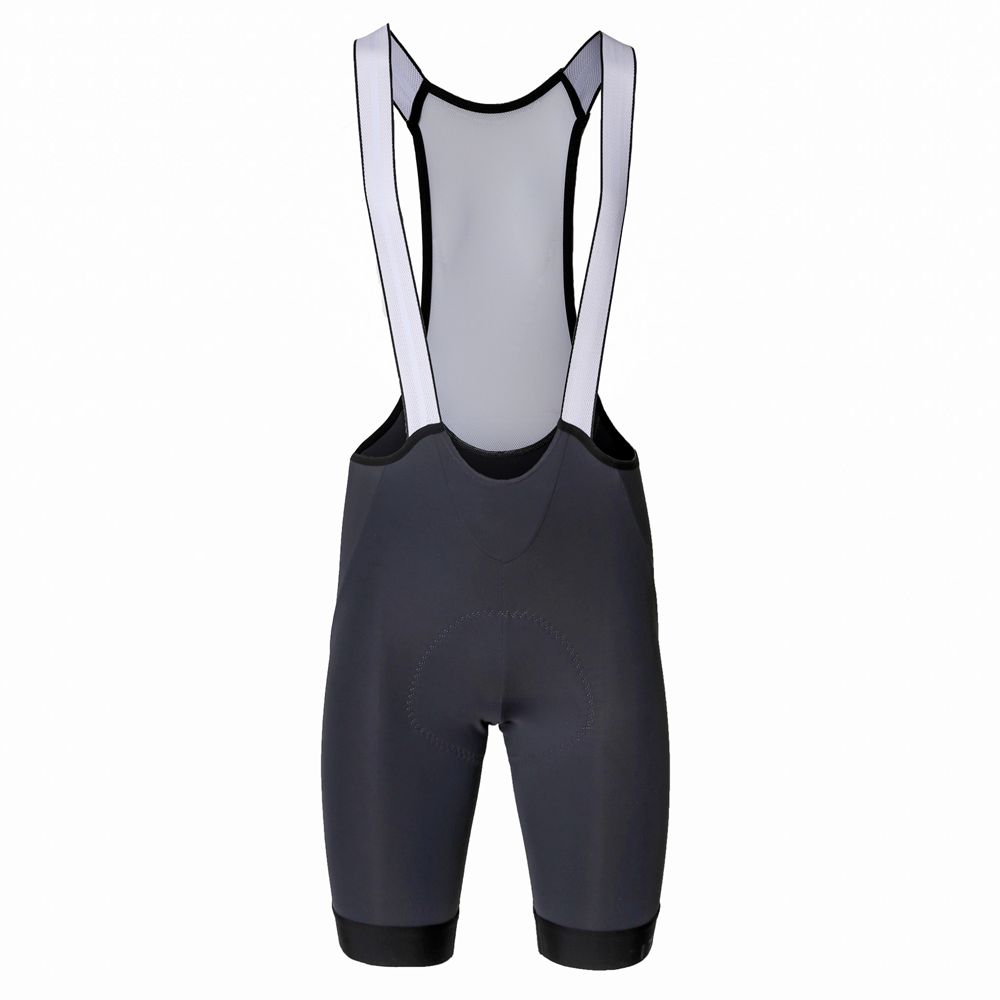 Coleman Valley Bib Short Gunmetal Grey