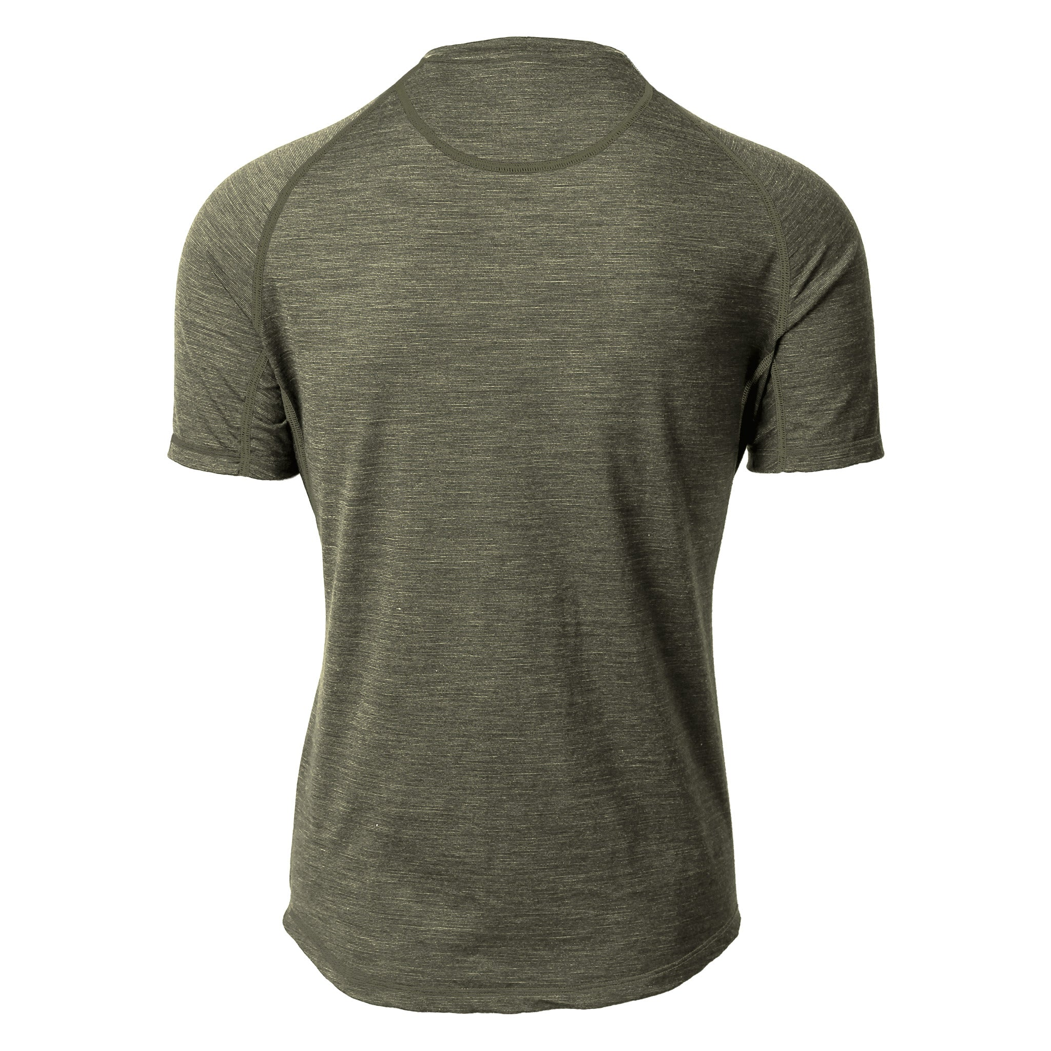 Mullinax Merino Tee Cedar Heather