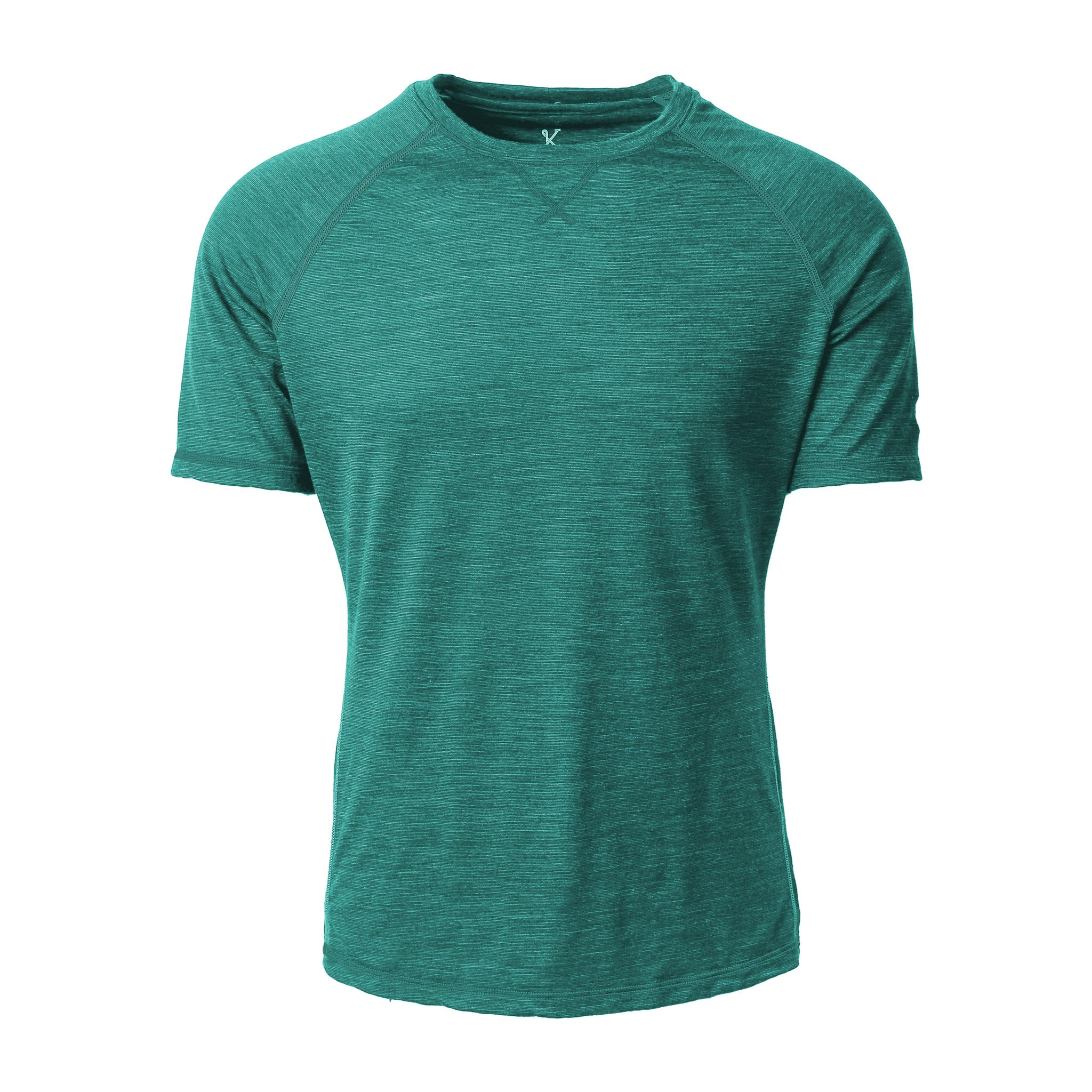 Mullinax Merino Tee Russian River Heather