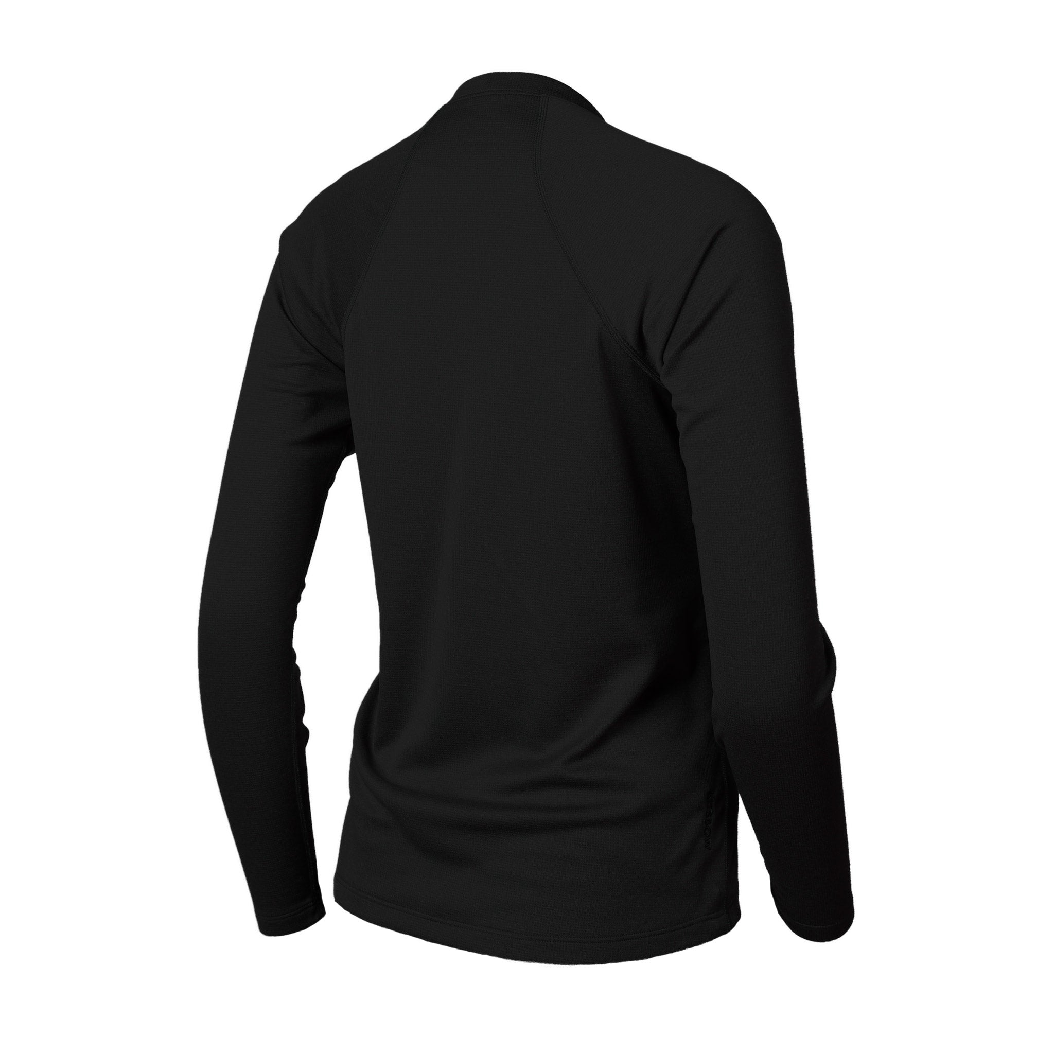 Lory Merino Crew Top Black
