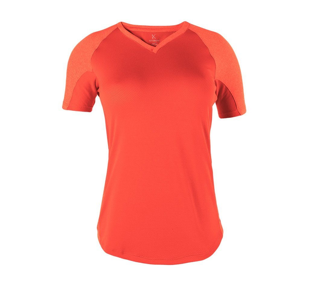 Glorieta V-Neck Tee Sunset