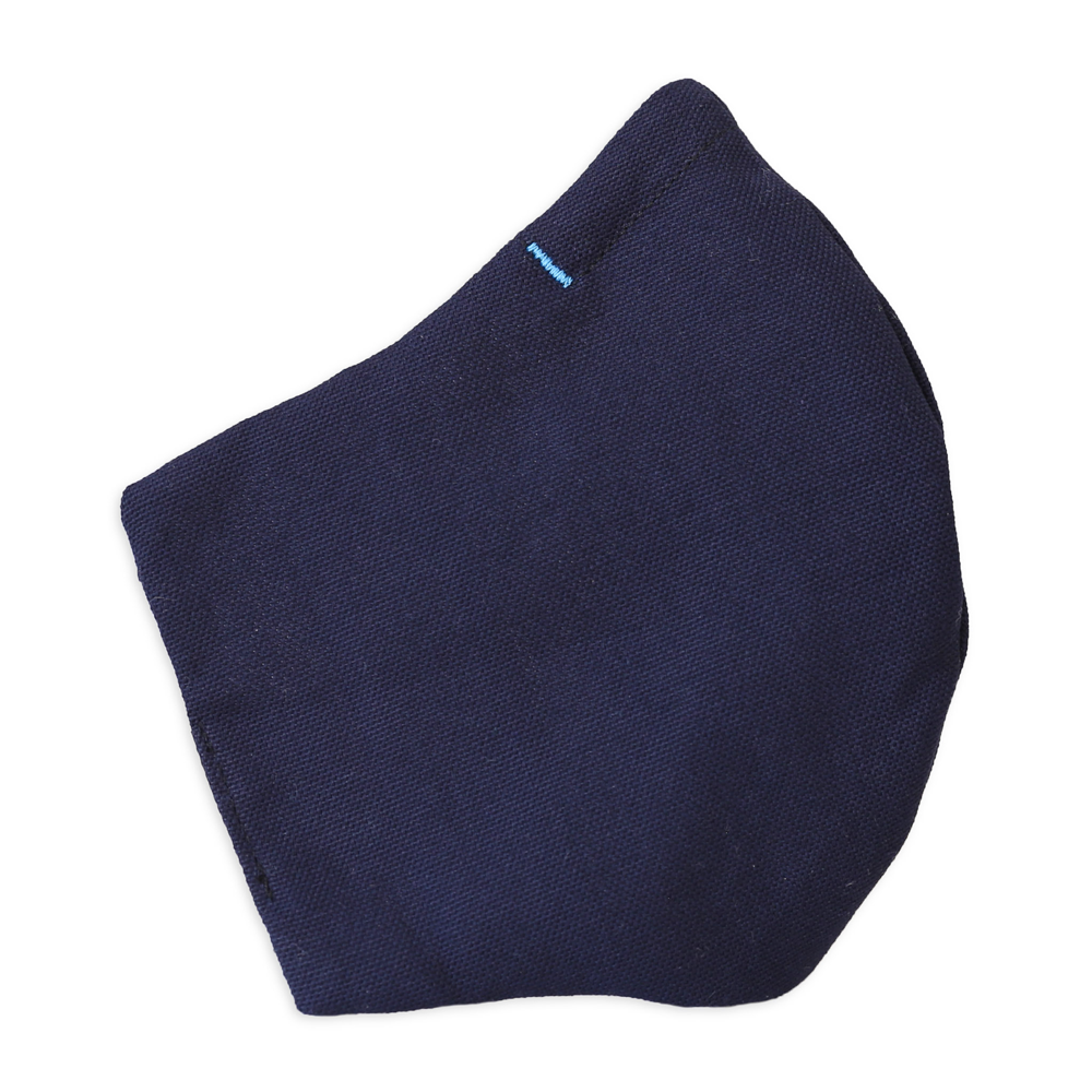 Kitsbow Face Mask, Reusable, HEPA Type Navy