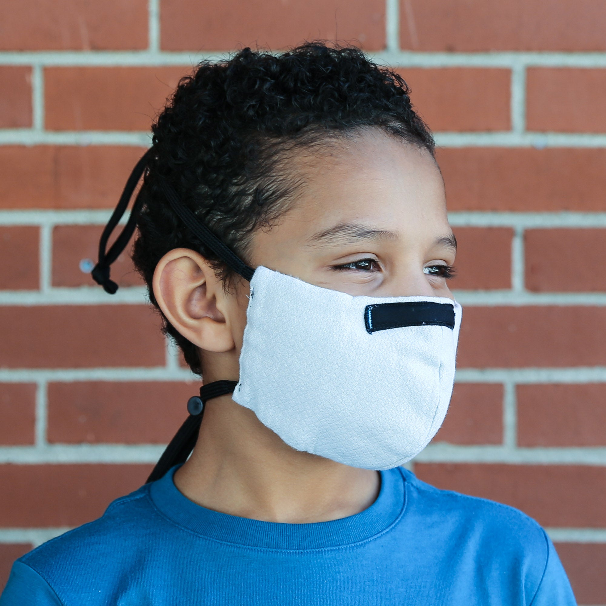 Wake ProTech™ Reusable Face Mask for Kids (with Filter) Cirrus