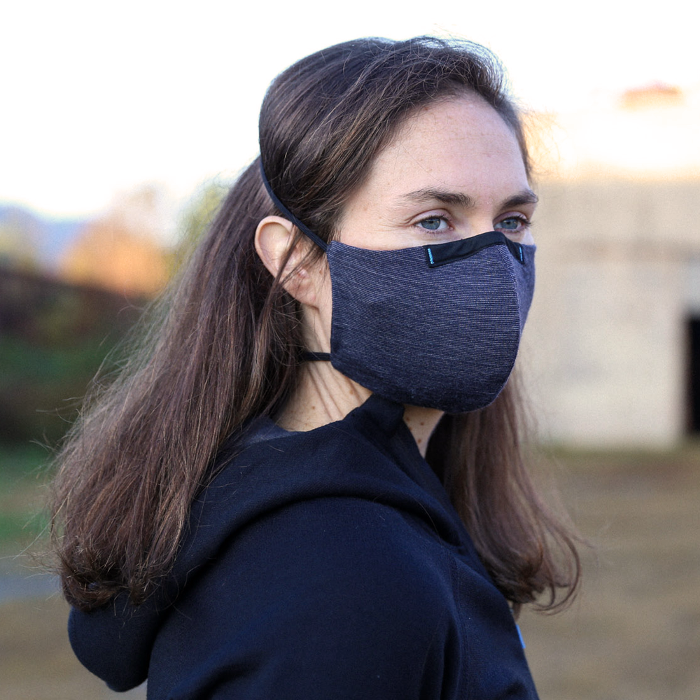 Wake ProTech™ Merino Reusable Face Mask (with Filter)