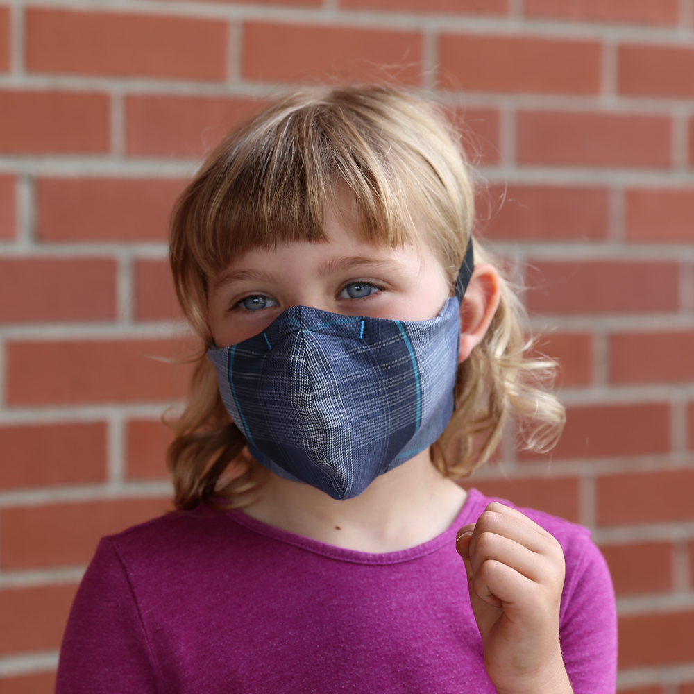 Kitsbow Reusable Face Mask for Kids Killington Blue