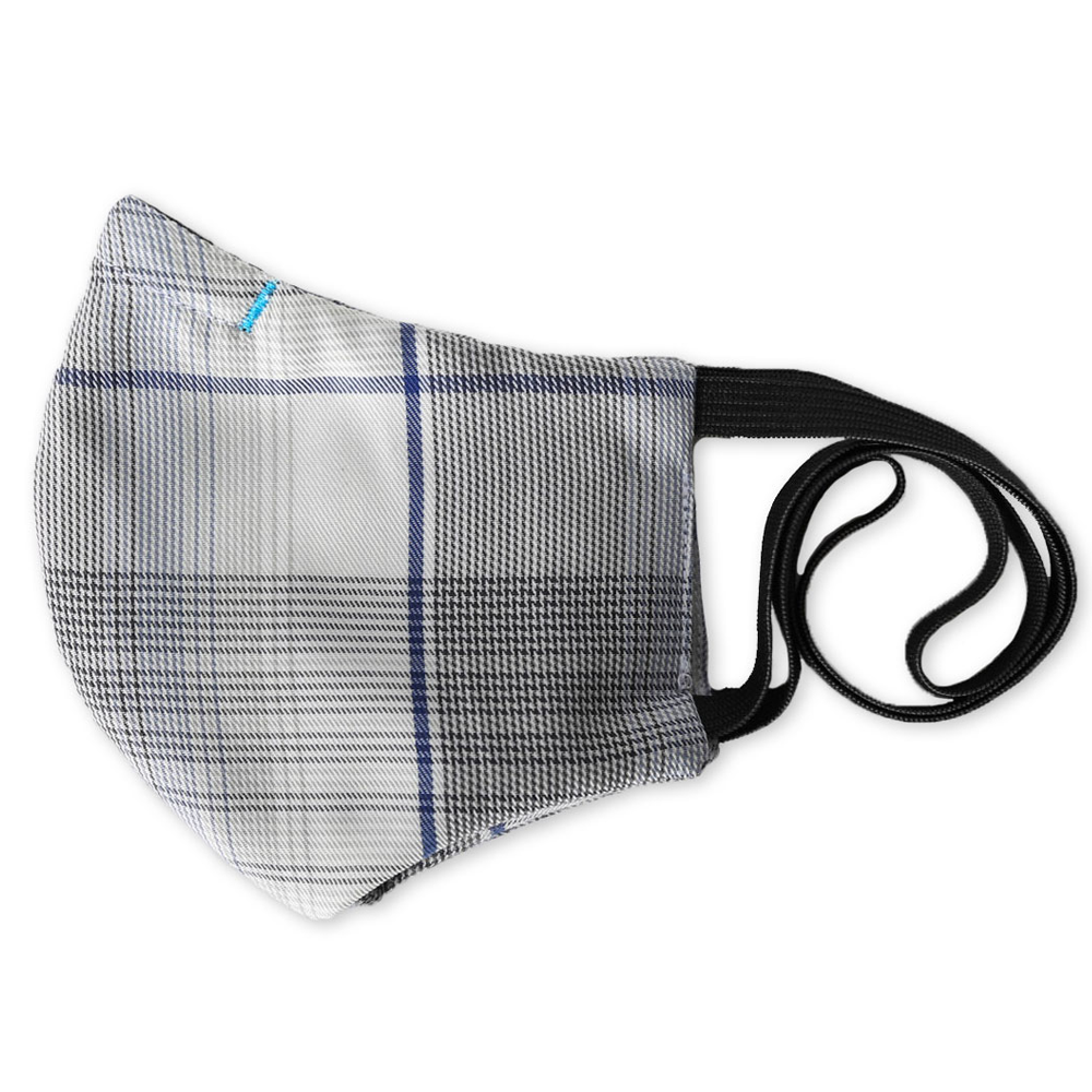 Kitsbow Reusable Face Mask for Kids Providence Grey
